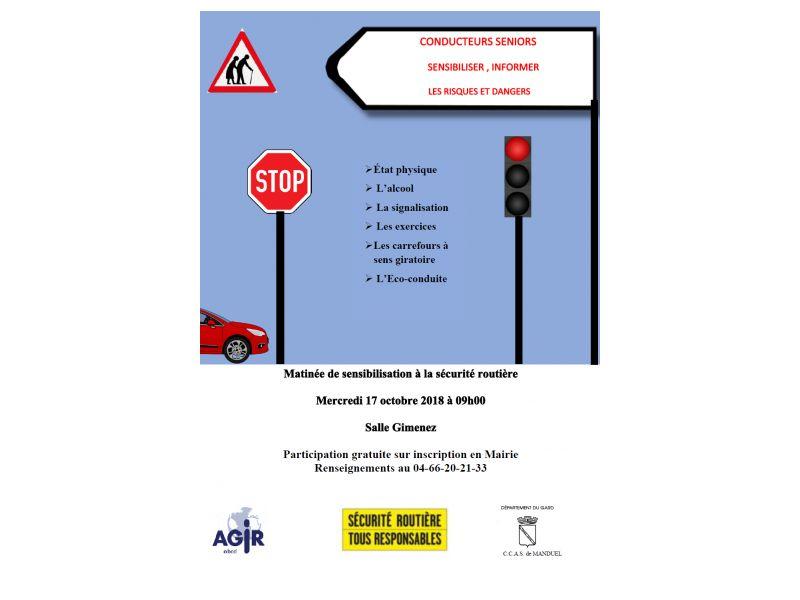 Matinée de sensibilisation sécurité routière